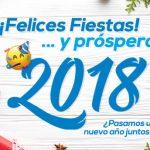 ¡Felices fiestas y feliz año nuevo! 🎊